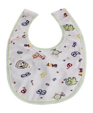 Bibs - Baby Safari Print