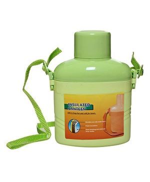 Fab & Funky Water Bottle - Green