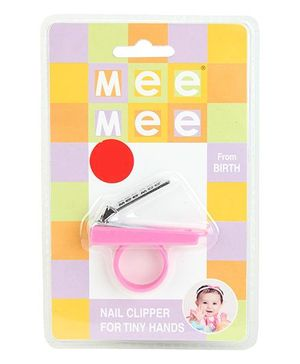 Mee Mee Nail Cutter - Pink