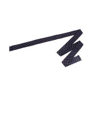 De Berry Dot Print Headband - Navy Blue