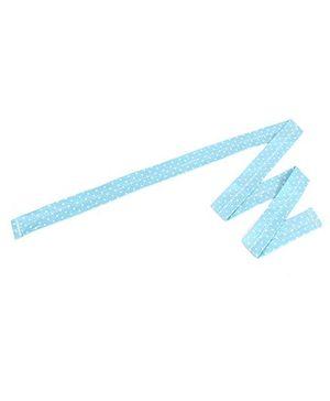 De Berry Dot Print Headband - Blue