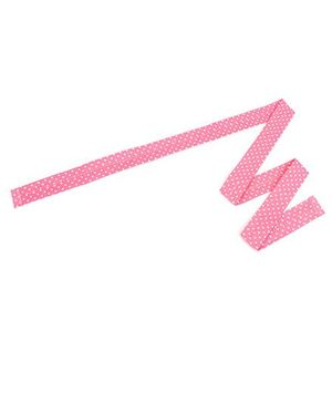 De Berry Dot Print Headband - Pink