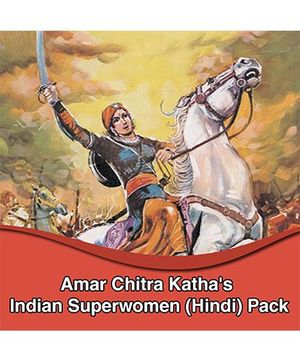 Amar Chitra Katha Indian Superwomen - Hindi