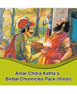 Amar Chitra Katha Birbal Chronicles Pack - Hindi