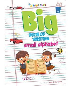 Big Book of Writing Small Alphabet - English