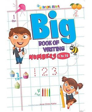 Big Book Of Number Writing 1 To 10 - English