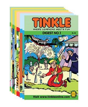Best of Tinkle 10 Tinkle Digests - English