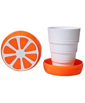 Orange Pattern Cup