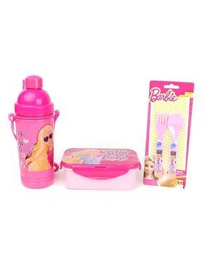 Barbie medium Lunch Box Eco Set - Pink