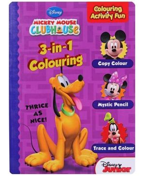Disney - 3 in 1 Colouring Thrice As Nice