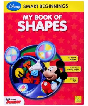 Disney - My Book Of Shapes