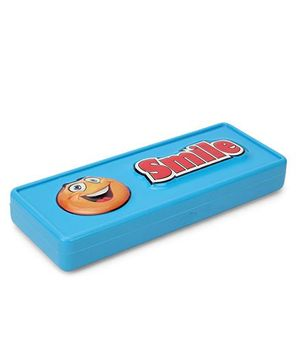 Buddyz 2D Neo Pencil Box Smile - Blue