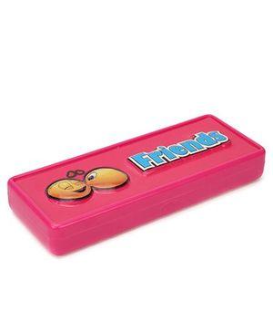 Buddyz 2D Neo Pencil Box Friends - Pink