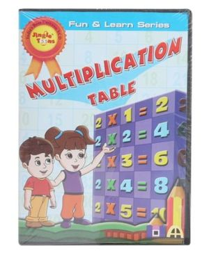 Jingle Toons - Fun And Learn Series Multiplication Table