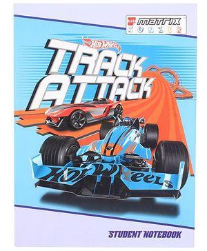Bilt Matrix Junior Notebook Hotwheels Print - 172 Pages