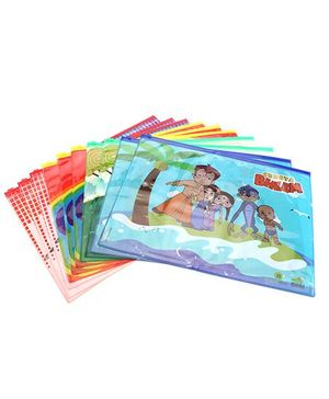 Chhota Bheem Single Side Printed Big Pouch - Pack of 10