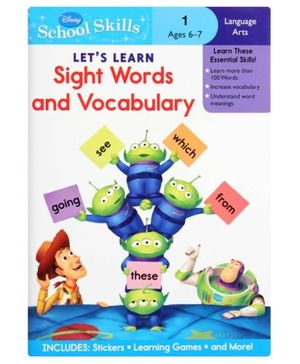 Disney  - Sight Words and Vocabulary