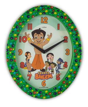 Opal Clocks Chota Bheem Caliber Clock - Green