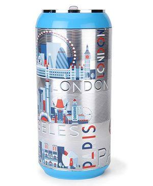 Cello Homeware Hi Life Can Water Bottle Blue - 600 ml