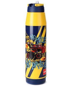 Cello Homeware Sipper Water Bottle Yellow - 900 ml