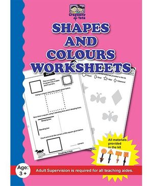 CQKids Shapes And Colors Worksheet - English