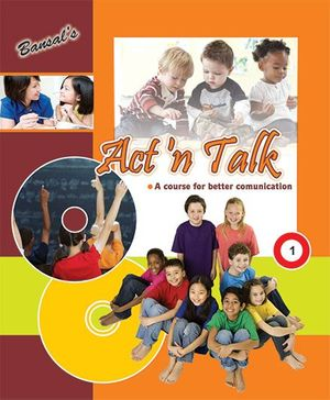 Act 'n Talk 1 Book - English