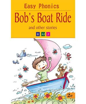 Easy Phonics Bob's Boat Ride And Other Stories - English