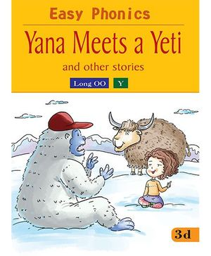 Easy Phonics Yana Meets A Yeti And Other Stories - English