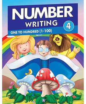 Number Writing 1 to 100 - English