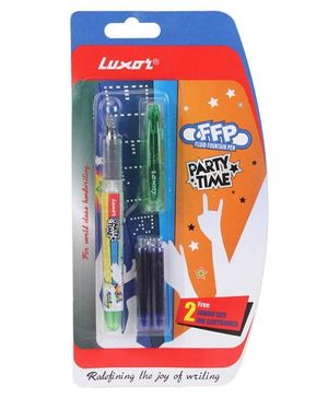 Luxor Party Time Fountain Pen - Multicolor