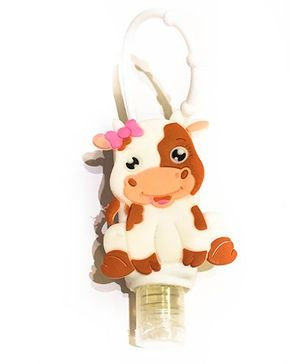 Funcart Cow Hand Sanitizer - White And Brown