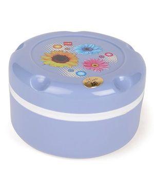 Cello Homeware Insulated Hot Pot Munch Box Flower Print - Blue