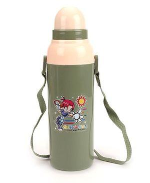 Cello Homeware Cool Wiz Insulated Water Bottle Super Ball Print - 600 ml