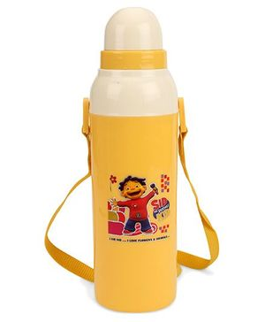 Cello HomewareCooll Wiz Insulated Water Bottle Yellow - 600 ml