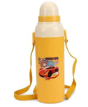 Cello Homeware Cool Wiz Insulated Water Bottle Race Car Print - 600 ml
