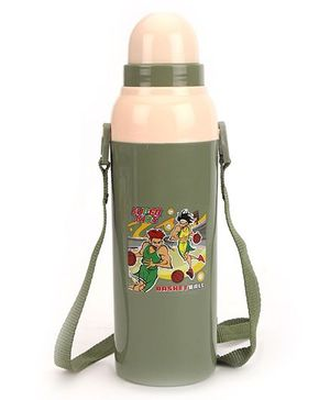 Cello Homeware Cool Wiz Insulated Water Bottle Super Kids Print - 600 ml