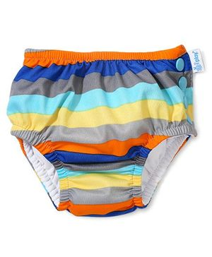 I Play Mix & Match Snap Reusable Absorbent Swim Wear - Multicolor