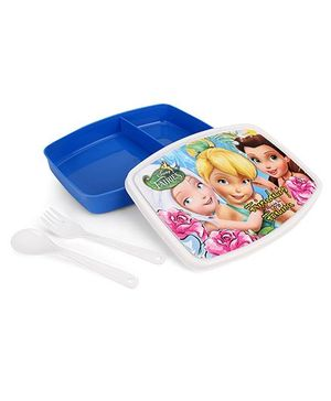 Cello Homeware Sancko Lunch Box Friendship Fashion Print - White And Blue