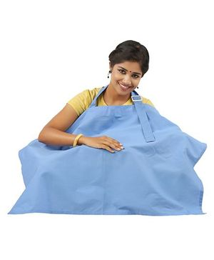 Lulamom Nursing Cover - Blue