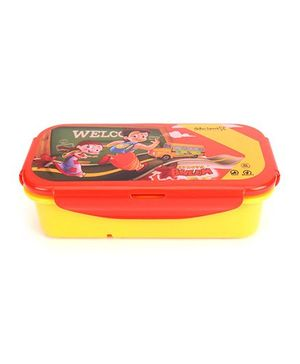 Chhota Bheem Lunch Box - Red And Yellow