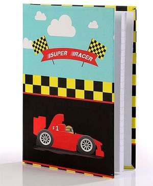 Baby Oodles Notebook Super Racer Theme Multicolor - 80 Pages