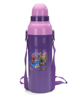Cello Homeware Cool Wiz Insulated Water Bottle Pocoyo Print Purple - 600 ml Approx