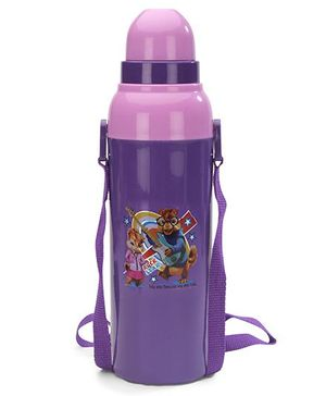 Cello Homeware Cool Wiz Insulated Water Bottle Rock Star Print Purple - 600 ml Approx