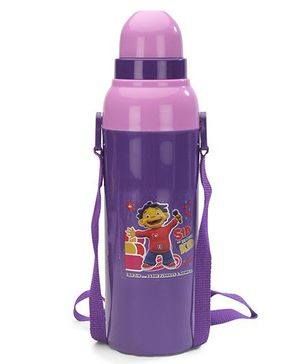 Cello Homeware Cool Wiz Insulated Water Bottle Science Kid Print Purple - 600 ml Approx
