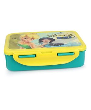 Cello Homeware Enigma Lunch Box Shimmering Style Print - Green Yellow