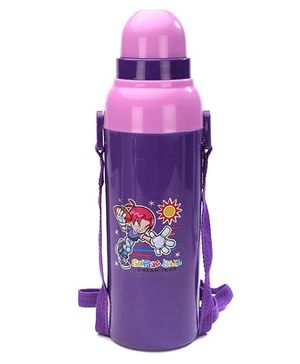 Cello Homeware Cool Wiz Insulated Water Bottle Super Ball Print Purple - 600 ml Approx