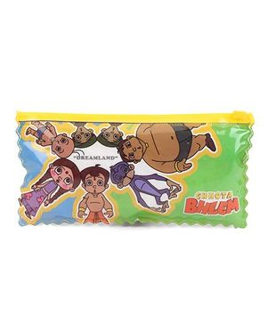 Chhota Bheem Double Sided Pencil Pouch - Multi Color
