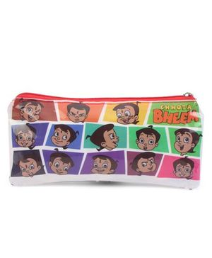 Chhota Bheem Double Sided Pouch - Multi Color
