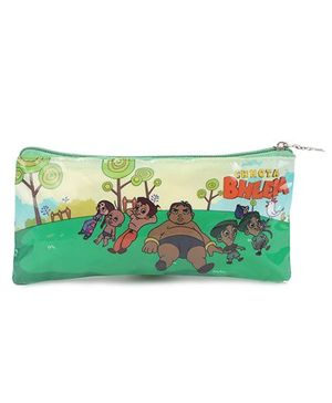 Chhota Bheem Pouch Double Sided - Green