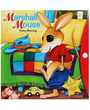 Marshal Mouse  2 In 1 Flip Me Book - English